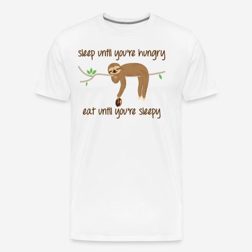 Sleepy Sloth - Men's Premium T-Shirt