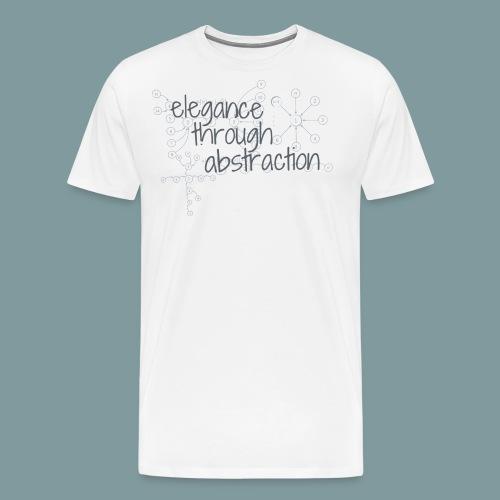 Elegance through Abstraction - Men's Premium T-Shirt