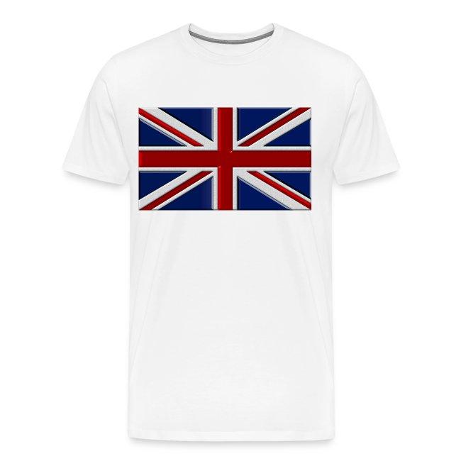 Union Jack Flag Boys Cotton Long Sleeve Tshirt