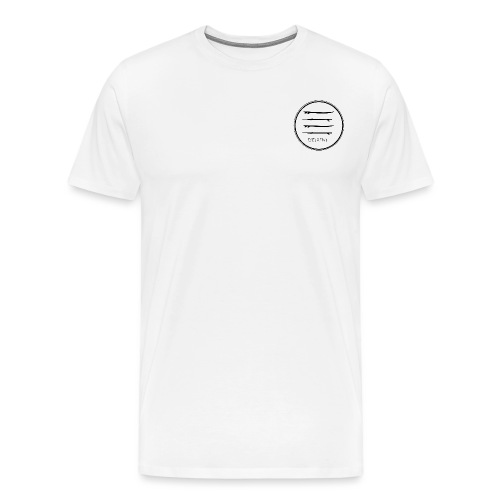 Breathe Circle Black - Men's Premium T-Shirt