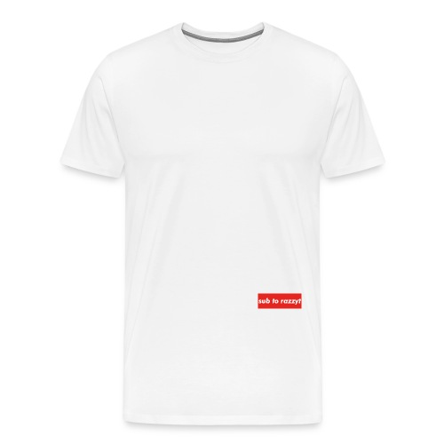 Sub To RazzyT - Men's Premium T-Shirt