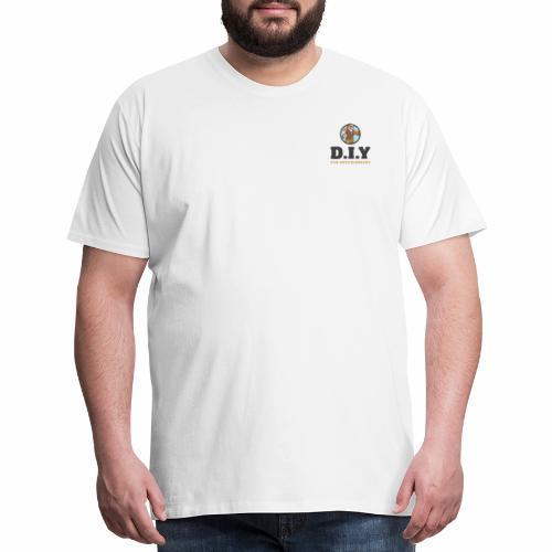 DIY For Knuckleheads Logo - Men's Premium T-Shirt