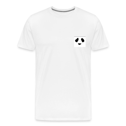 panda eyes - Men's Premium T-Shirt