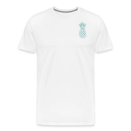 Pineapple Design - Men's Premium T-Shirt