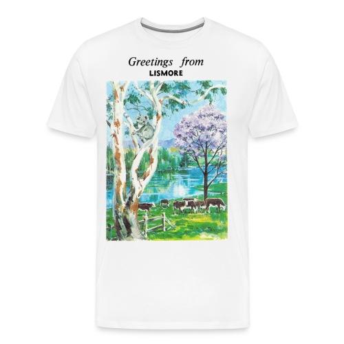 Greetings from Lismore - Men's Premium T-Shirt