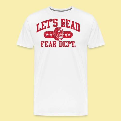 Athletic - Fear Dept. - RED - Men's Premium T-Shirt