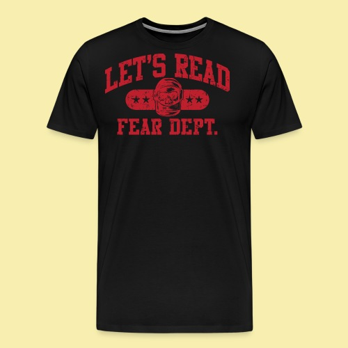 Athletic - Fear Dept. - RED - Men's Premium T-Shirt