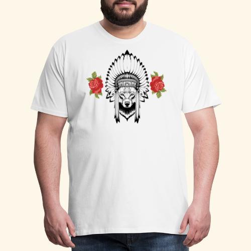 WOLF KING - Men's Premium T-Shirt