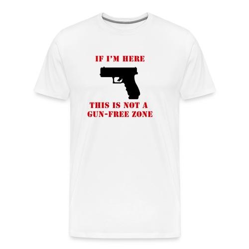 GunFreeZone - Men's Premium T-Shirt