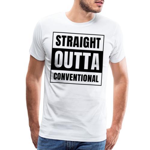 straight outta conventional - Men's Premium T-Shirt
