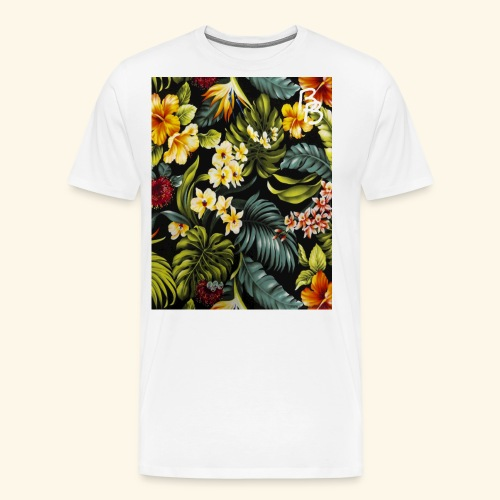Flower BB - Men's Premium T-Shirt