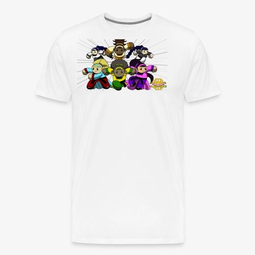 The Guardians of the Cloudgate w/ Logo - Men's Premium T-Shirt