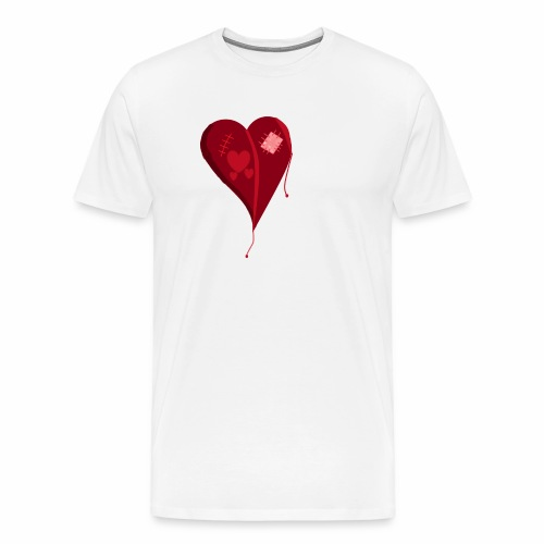 Destroyed Love - Men's Premium T-Shirt