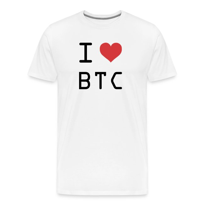 I HEART BTC (Bitcoin)