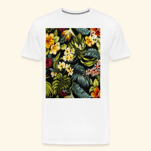Flower BB - Men's Premium T-Shirt