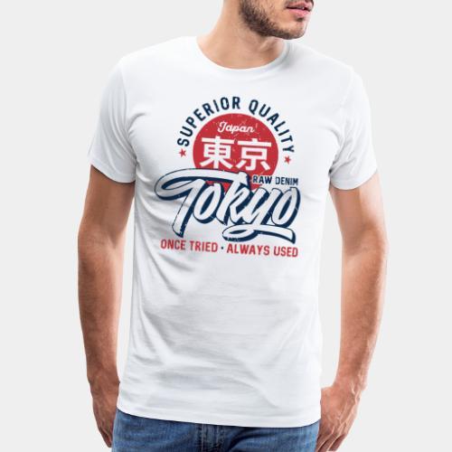 tokyo superior quality japan - Men's Premium T-Shirt