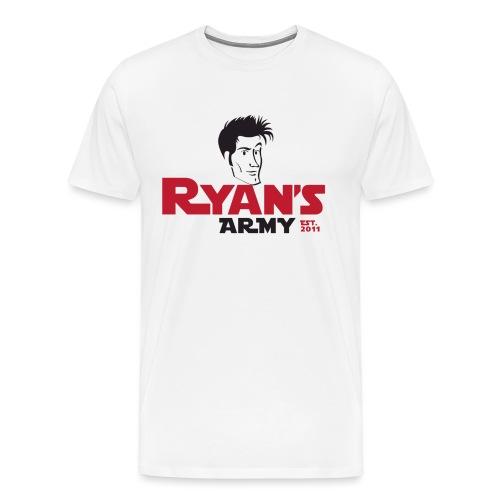 ryans army logo22 - Men's Premium T-Shirt