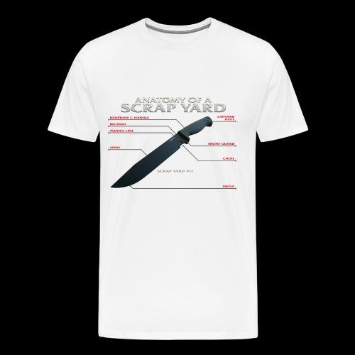 Anatomy of a Scrap Yard - Men's Premium T-Shirt