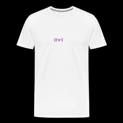 IFWI (cover art) - Men's Premium T-Shirt
