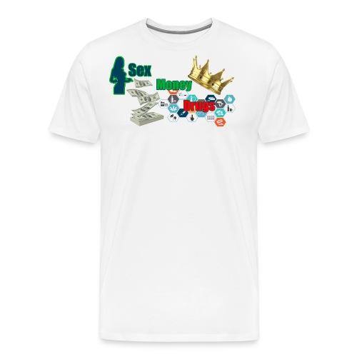 SEX MONEY DRUGS - Men's Premium T-Shirt
