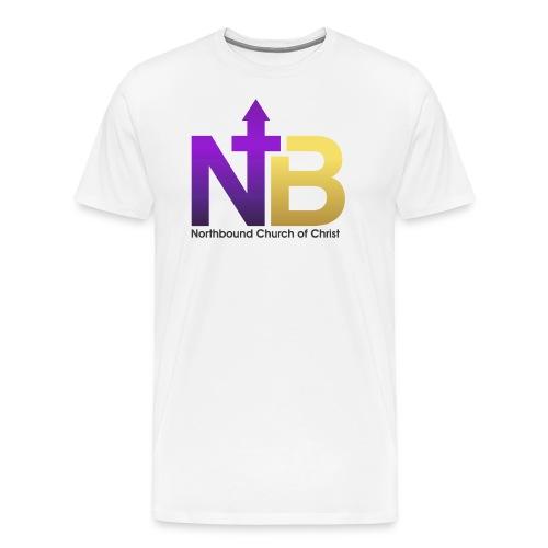 NB short logo png - Men's Premium T-Shirt
