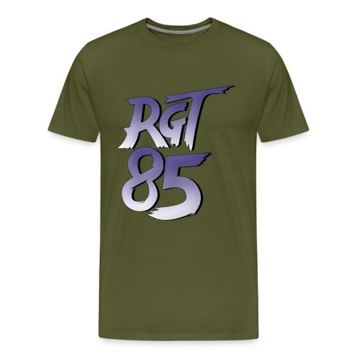 RGT 85 Logo - Men's Premium T-Shirt