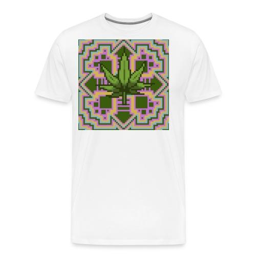 Trippy Marry Jay Leaf - Men's Premium T-Shirt