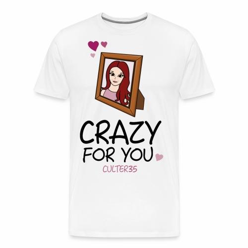 Crazy For Ariana - Men's Premium T-Shirt