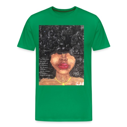 Song of Solomon 1:5 - Men's Premium T-Shirt