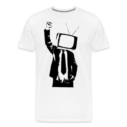 irrelavision logo - Men's Premium T-Shirt
