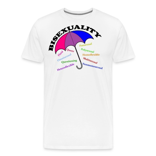 Bi+ Umbrella - Men's Premium T-Shirt