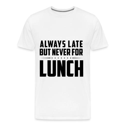 Lunch - Men's Premium T-Shirt