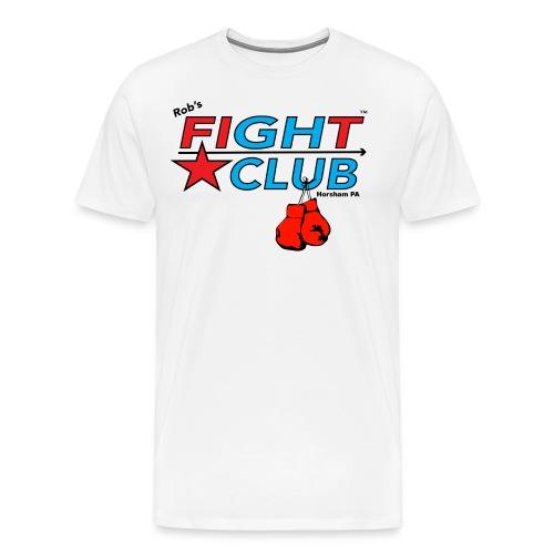 RFC Square Logo w/Gloves - Men's Premium T-Shirt