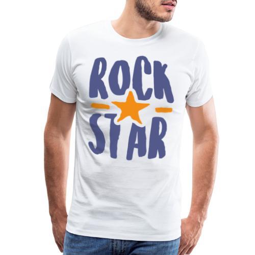 rock star - Men's Premium T-Shirt
