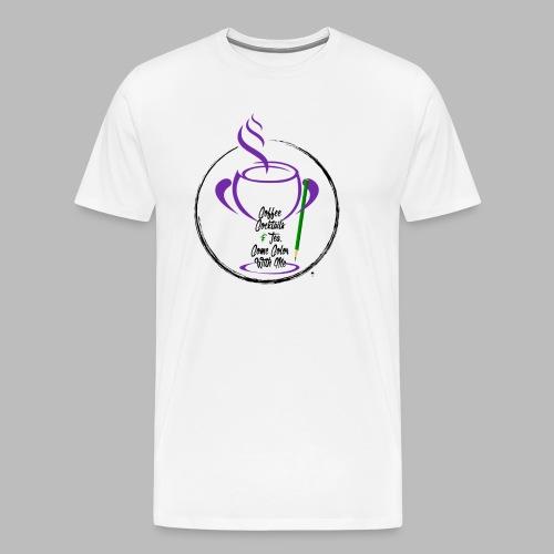 CCTCCWM Black Text - Men's Premium T-Shirt