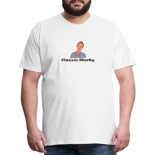 The Classic Shorty Logo - Men's Premium T-Shirt