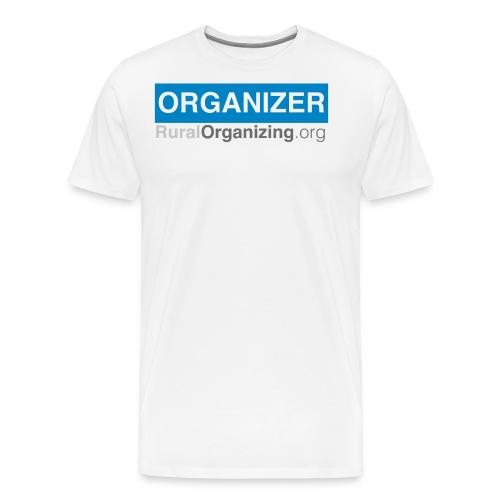 RuralOrganizing org Organizer Tshirt - Men's Premium T-Shirt