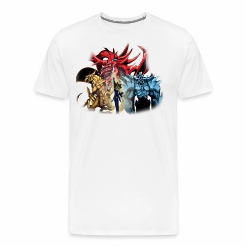 Yu Gi Oh God Cards Tshirt - Men's Premium T-Shirt