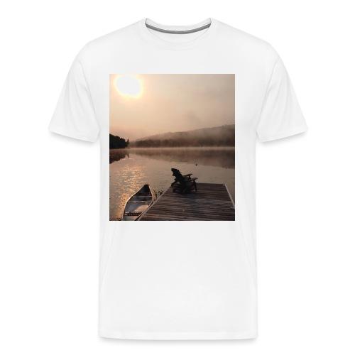 Paint Lake Dock - Men's Premium T-Shirt