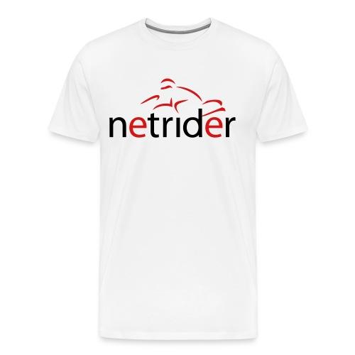 Netrider Logo - Men's Premium T-Shirt