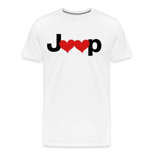 Jeep Love - Men's Premium T-Shirt