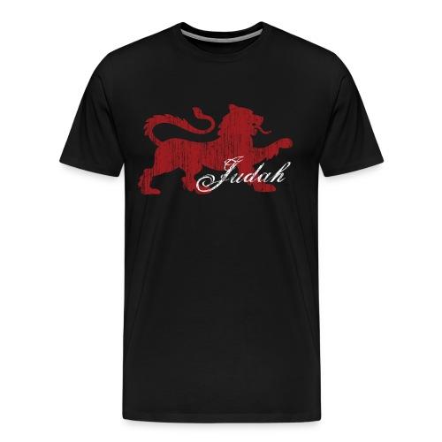 The Lion of Judah - Men's Premium T-Shirt