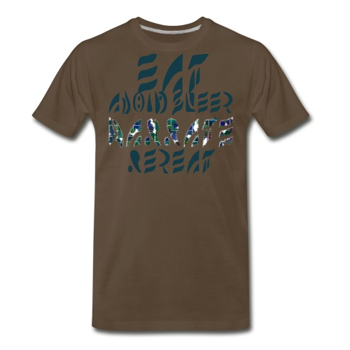 Eat Sleep Narrate Repeat - Men's Premium T-Shirt