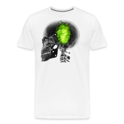HOPSKULL Men's 3XL/4XL Hooded Sweatshirt - Men's Premium T-Shirt