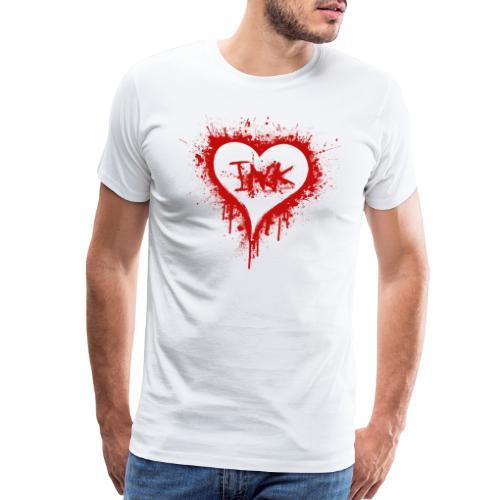 I Love Ink_red - Men's Premium T-Shirt