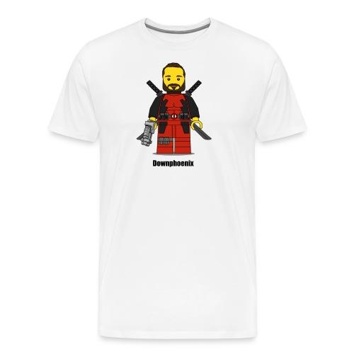 Downphoenix Character Logo - Men's Premium T-Shirt
