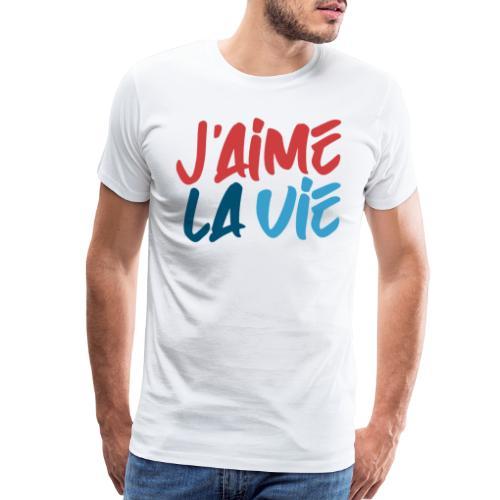 j'aime la vie love life - Men's Premium T-Shirt