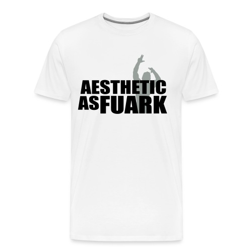 Zyzz Aesthetic as FUARK - Men's Premium T-Shirt