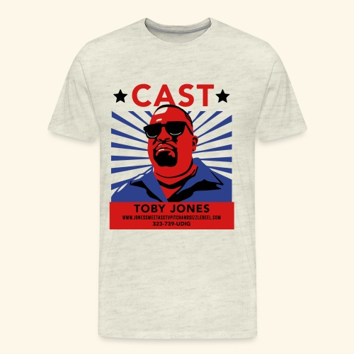 toby jones tee v3 ol - Men's Premium T-Shirt