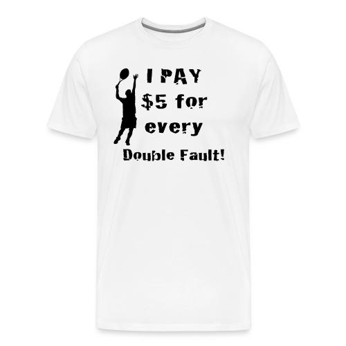 Tennis Double Fault - Men's Premium T-Shirt